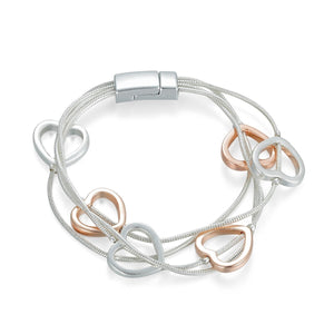 Magnetic Heart Bracelet - Vz Collection