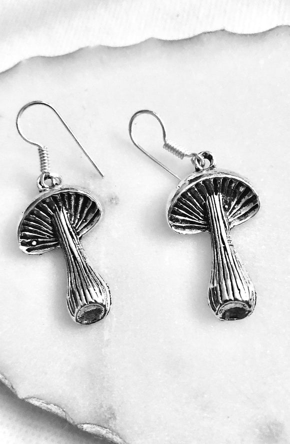 Mushroom Umbrella Earrings - VzCollection