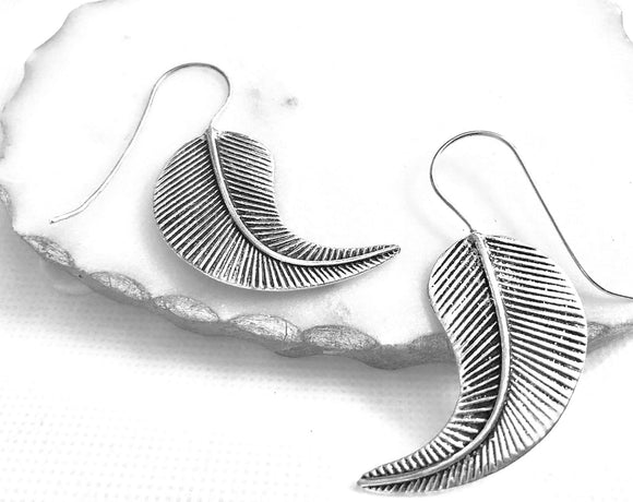 Create a statement with these Leaf Earrings