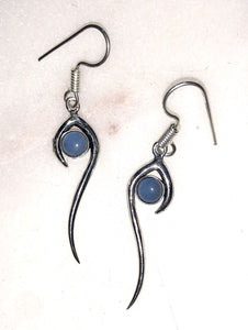 Lapis Drop Earrings - VzCollection