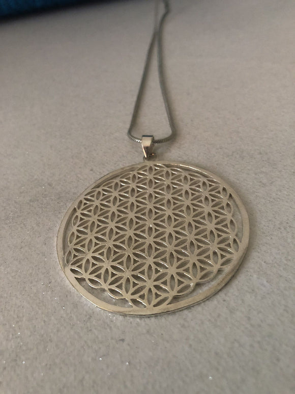 Flower of Life Necklace - VzCollection