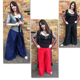 Wide Leg Silk Culottes