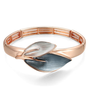 Leaf Pendant Elasticated Bracelet - VzCollection