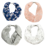 Shimmer Butterfly Magnetic Scarf - VzCollection