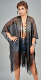 Summer Kimono with Fringe - VzCollection