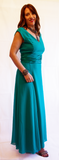 Teal Ball Gown - VzCollection