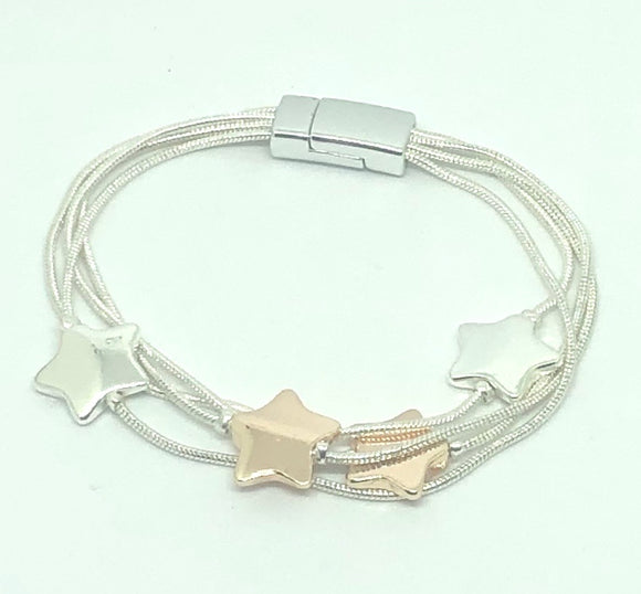 Star Bead Magnetic Bracelet - VzCollection