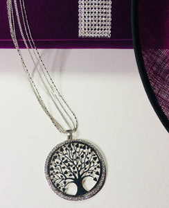 Tree Of life Delicate Sparkling Necklace - VzCollection