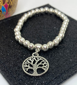 Mulberry Tree Charm Bracelet - Vz Collection