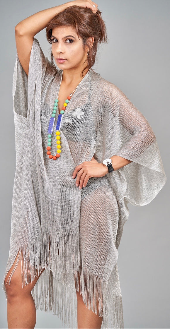Summer Kimono with Fringe - Vz Collection