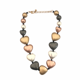 Heart Shaped Beads Necklace - VzCollection