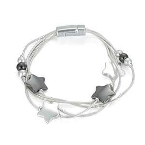 Magnetic Star Bracelet with Beads - Vz Collection