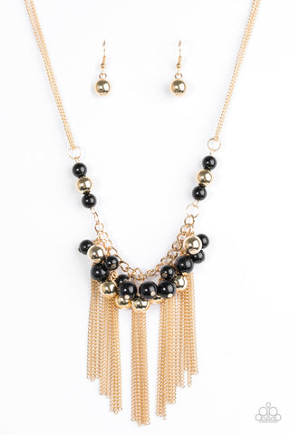 zumiez rhodium black necklace gods micro gold angel front the