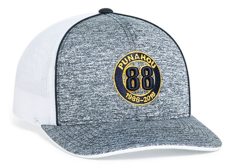 106C |Aggressive Heather Trucker Snapback