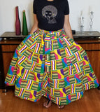 Multicolored Long Skirt
