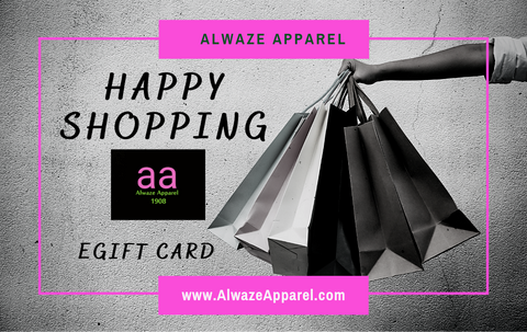 Alwaze Apparel eGift Card