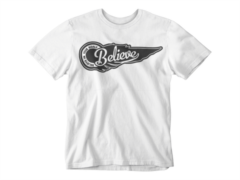 Believe in Your Goals Tshirt Wing