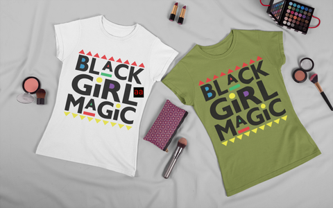 Black Girl Magic Checkered