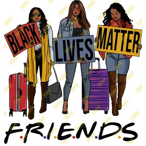 Friends Black Lives Matter