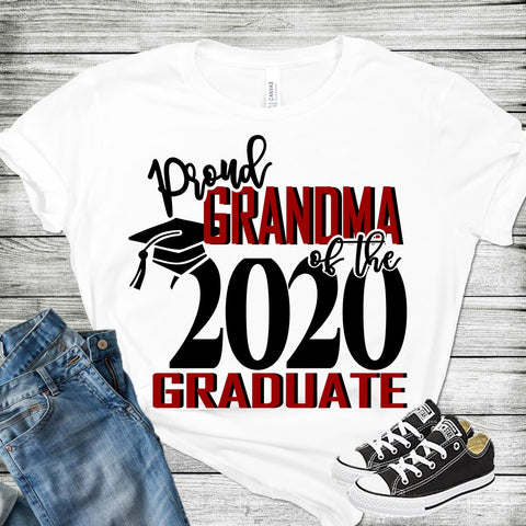Proud Grandma Of A 2020 Graduate