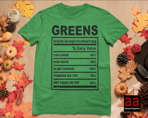 Greens Ham Hocks Tee