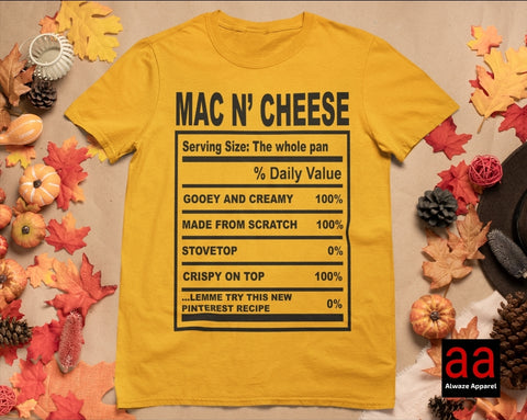 Mac N Cheese Tee