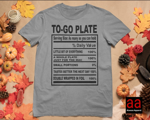 To-Go-Plate Tee