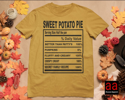 Sweet Potatoe Pie Tee