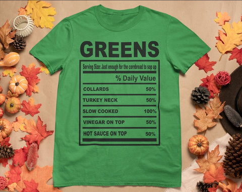 Greens Turkey Necks Tee