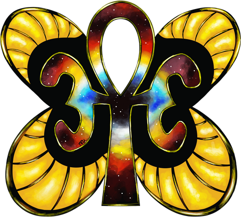 Ankh Butterfly Apparel