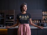 Boss Lady- Metallic Gold