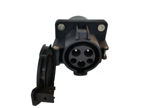 j1772 receptacle or inlet to charge electric vehicles