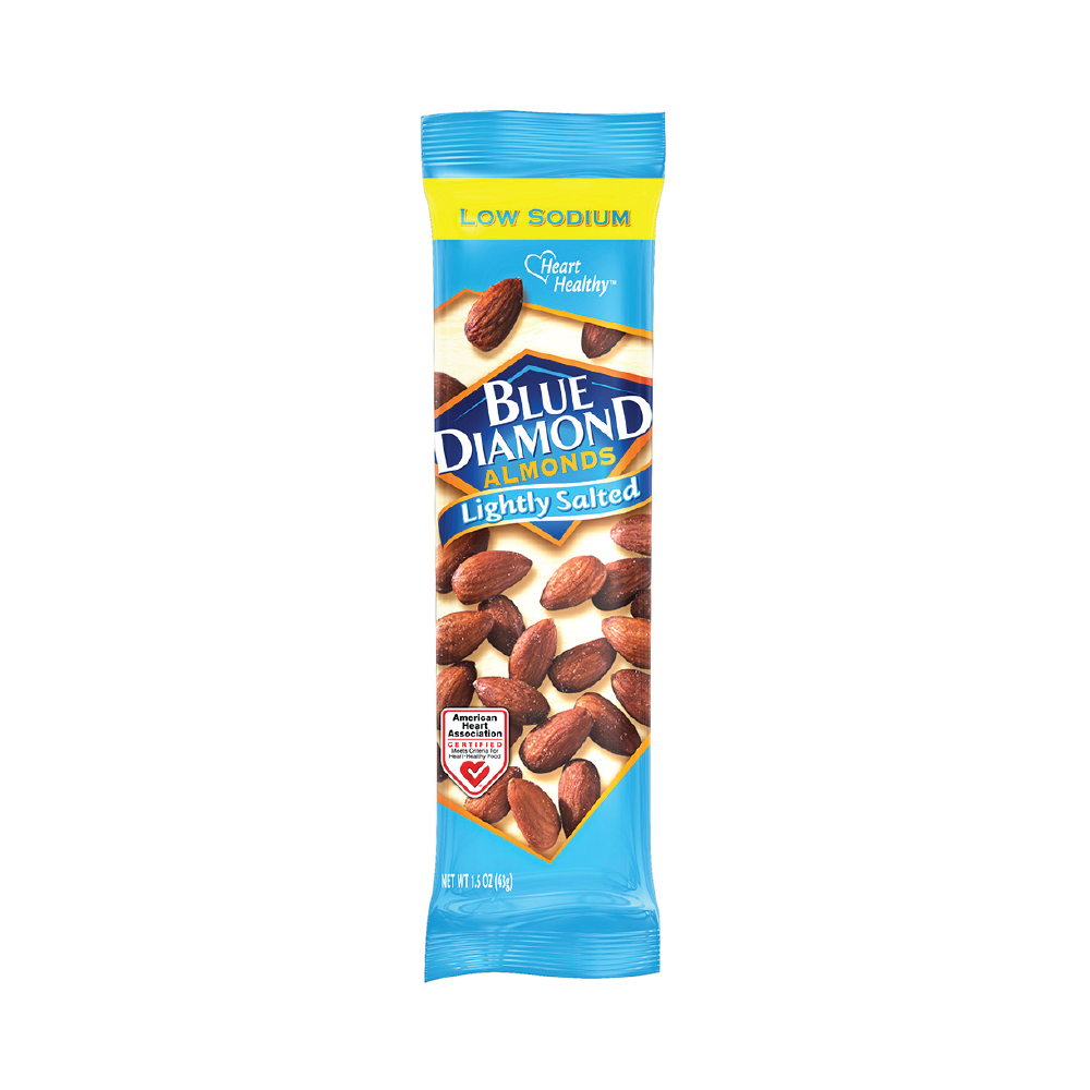 Blue Diamond Lightly Salted Almonds 1.5oz (12ct)