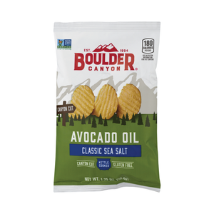 Boulder Canyon Avocado Oil Sea Salt Kettle Chips 1.25oz (55ct)