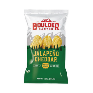 Boulder Canyon Jalapeno Cheddar Kettle Chips 1.5oz (55ct)