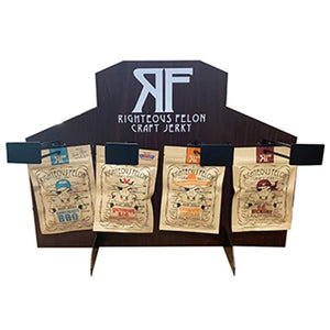 Righteous Felon 4-Peg Countertop Jerky Display