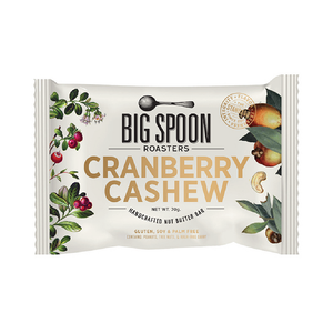 Big Spoon Roasters Cranberry Cashew Nut Butter Bar 2.12oz (12ct)