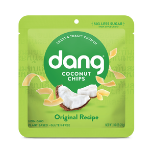 Dang Original Coconut Chips Single Serve 0.7oz (24ct)
