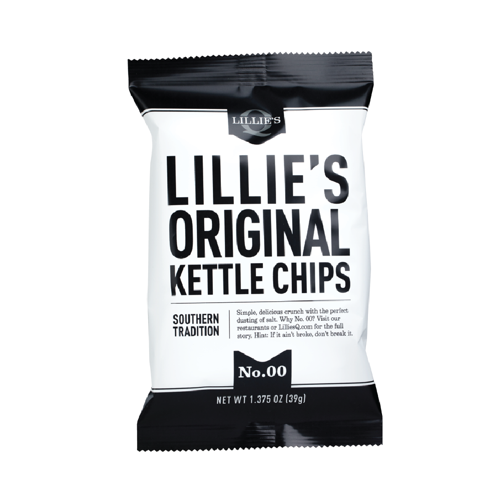 Lillie's Q Original Kettle Chips 1.375oz (40ct)