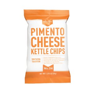 Lillie's Q Pimento Cheese Kettle Chips 1.375oz (40ct)