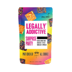 Legally Addictive Surprise Party Cracker Cookies 4.7oz (6ct)