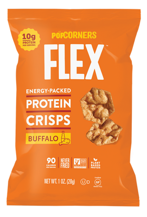 PopCorners Flex Buffalo Protein Crisps 1oz (24ct)