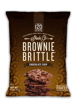 Sheila G's Chocolate Chip Brownie Brittle 1oz (72ct)