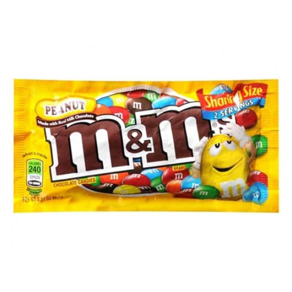 Peanut M&M's King Size 3.27oz (24ct)