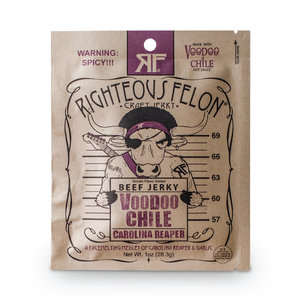 Righteous Felon 1oz Voodoo Beef Jerky (16ct)