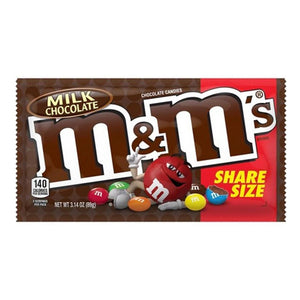Milk Chocolate M&M's King Size 3.14oz (24ct)