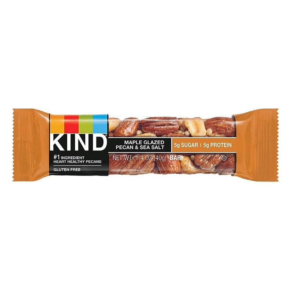 KIND Maple Glazed Pecan & Sea Salt Bar 1.4oz (12ct)