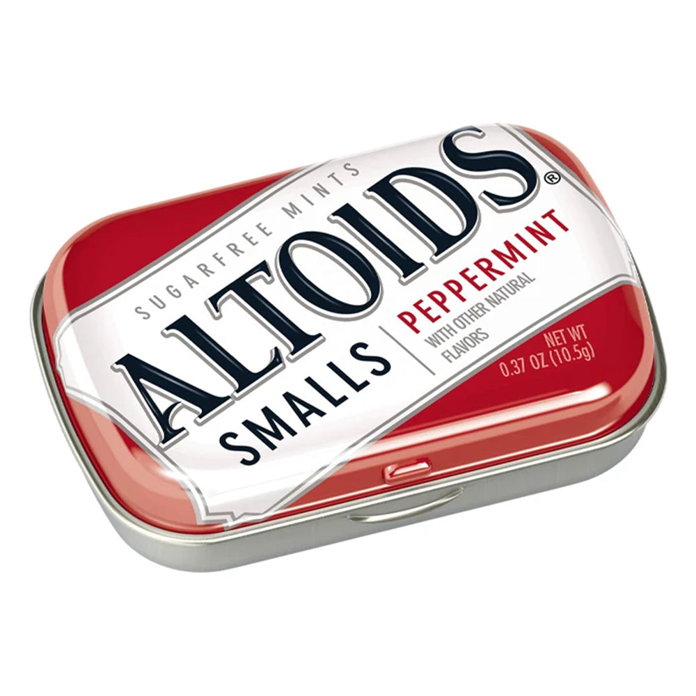 ALTOIDS Smalls Peppermint Mints Mini Tin 0.37oz (9ct)