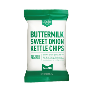 Lillie's Q Buttermilk & Sweet Onion Kettle Chips 1.375oz (40ct)