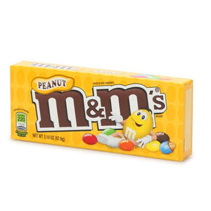Peanut M&M's Concession Box 3.1oz (12ct)